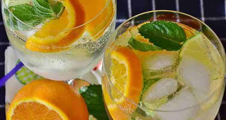Апельсиновый домашний лимонад