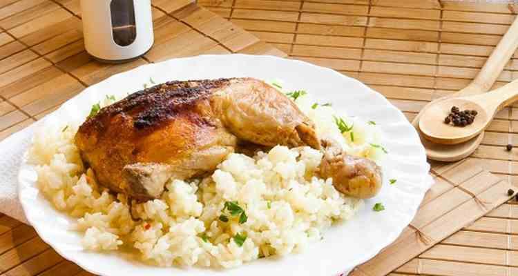 Курица с рисом
