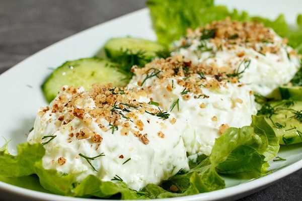 Болгарский салат Снежанка