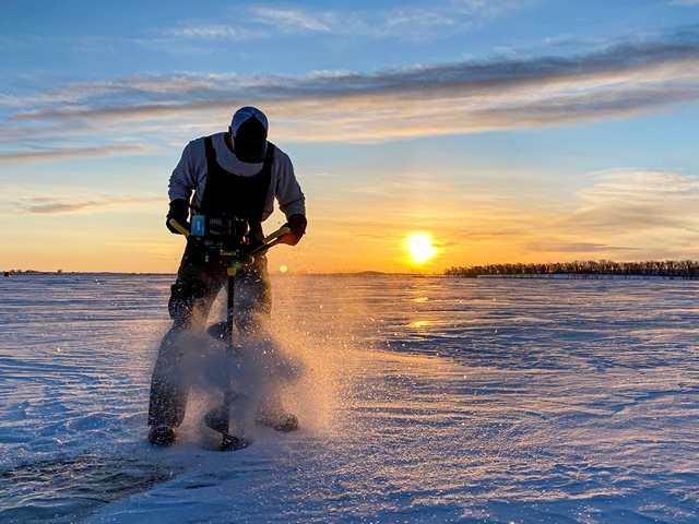 Зимняя рыбалка в Болгарии