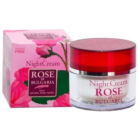 Крем для лица ночной «Болгарская Роза»