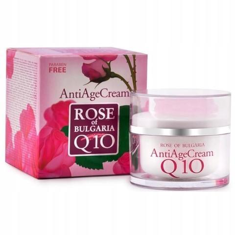 Крем против морщин «Болгарская Роза» Антивозрастной Q10