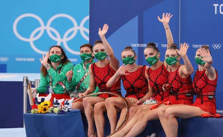 Сборная Болгарии завоевала золото по художественной гимнастике