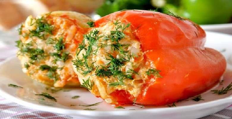 Фаршированный перец болгарский рецепт