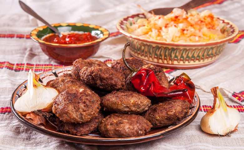 Царская туршия и котлеты болгарский рецепт