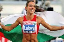 Ивет Лалова-Коллио лучшая болгарская легкоатлетка, бегунья на короткие дистанции
