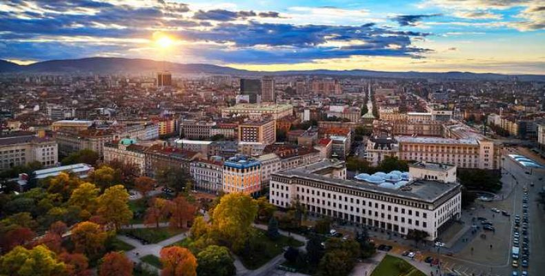 София столица Болгарии, замечательный старинный город